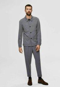 Selected Homme - Blazer jacket - light grey melange - 1