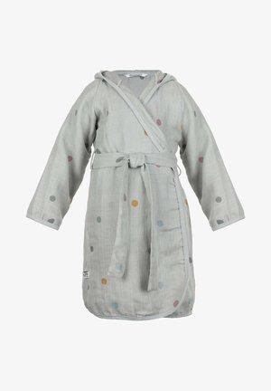 KINDSGUT MUSSELIN BADEMANTEL - Dressing gown - light grey