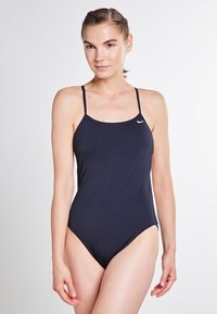 Nike Swim - CUT-OUT ONE PIECE - Swimsuit - black - 0