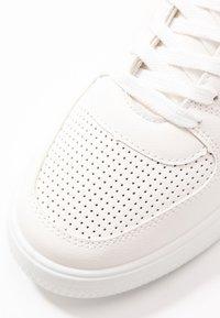 Topshop - CHARLTON LACE UP - Zapatillas - white - 2