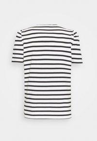 kate spade new york - STRIPE PUFF SLEEVE TEE - Print T-shirt - cream - 1
