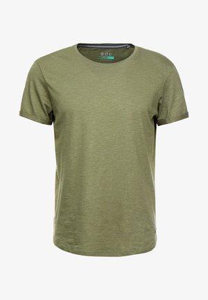 LONG TEE - T-shirt - bas - khaki green