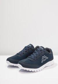 Kappa - ROCKET  - Chaussures d'entraînement et de fitness - navy/white - 2