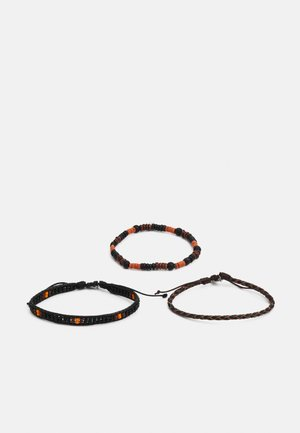 MONARCH BRACELET COMBO 3 PACK - Náramek - black