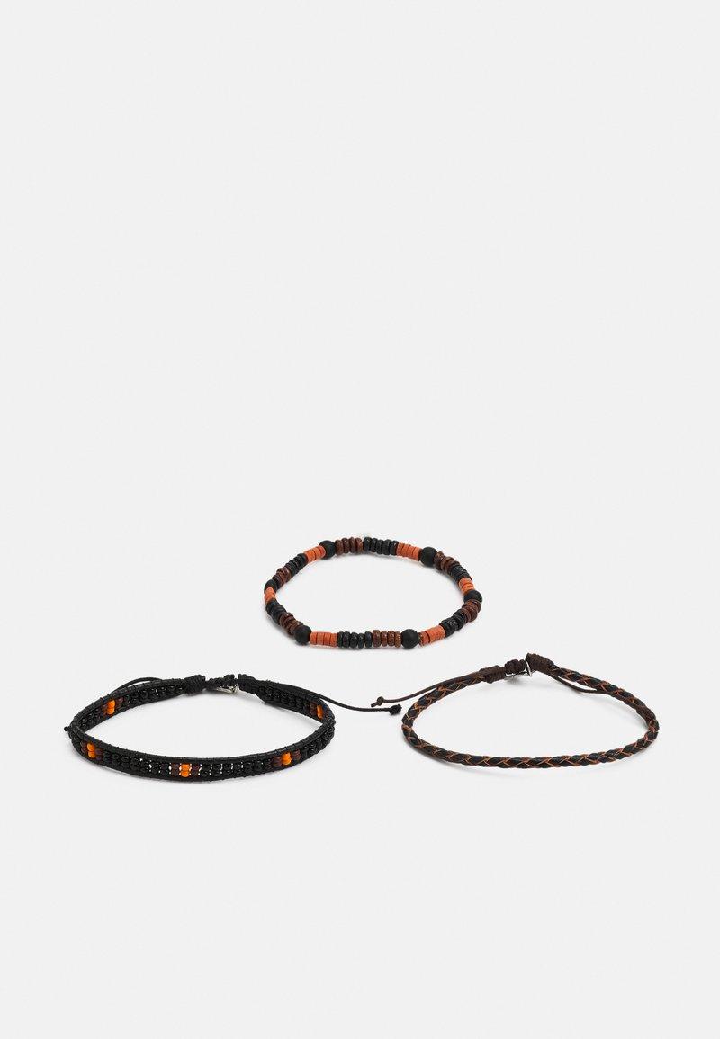 Icon Brand - MONARCH BRACELET COMBO 3 PACK - Bracciale - black