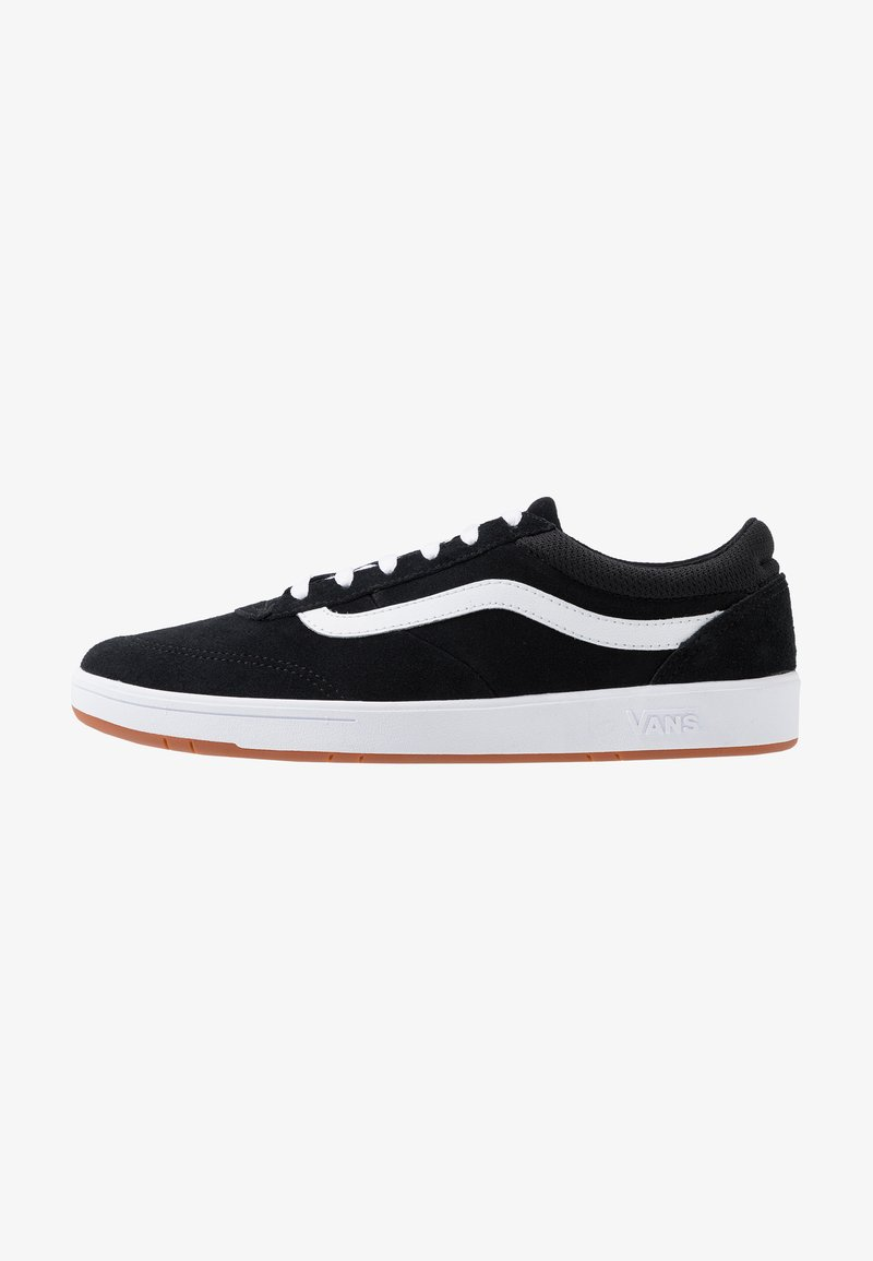 Vans - CRUZE - Sneakersy niskie - black/true white