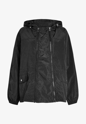 2-IN-1 SHOWER RESISTANT - Summer jacket - black