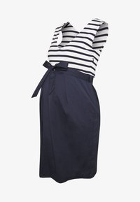 Balloon - STRAIGHT DRESS STRIPES - Vestito estivo - navy-white - 3