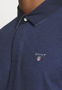 GANT - THE ORIGINAL HEAVY RUGGER - Polo shirt - marine melange - 5