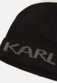 KARL LAGERFELD - BEANIE UNISEX - Czapka - black - 3