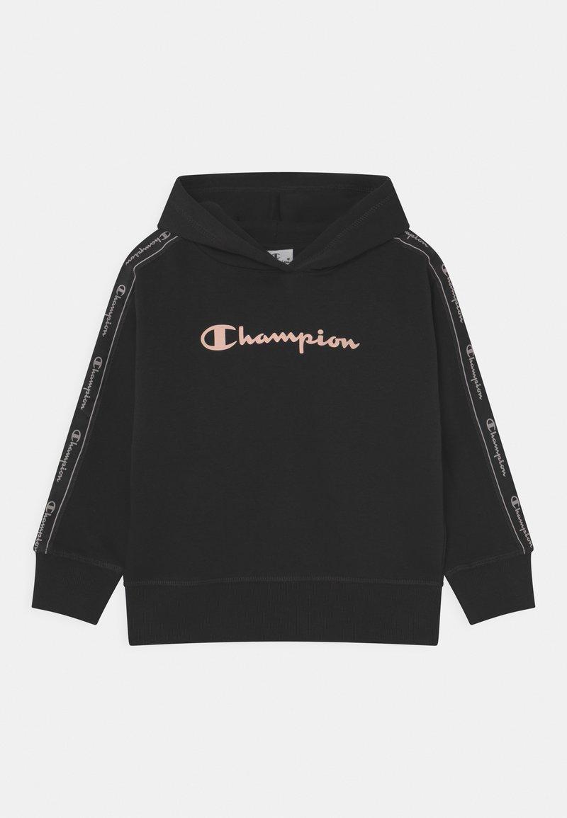 Champion - TAPE MANIA HOODED UNISEX - Hoodie - black