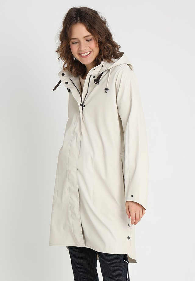 TRUE RAINCOAT - Parka - milk creme