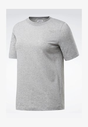 TRAINING ESSENTIALS EASY TEE - Print T-shirt - grey