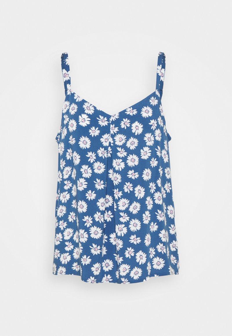 GAP - PLEAT FASH TANK - Blus - blue
