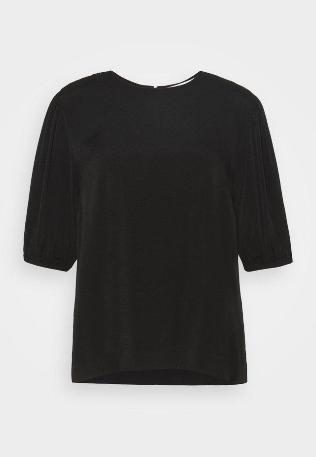 ARAM BLOUSE - T-shirt basique - black