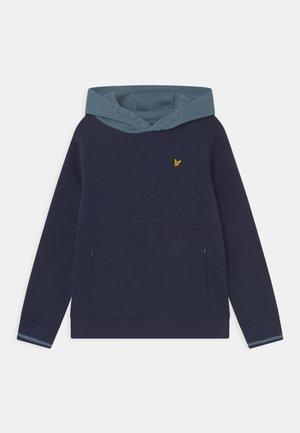 CONTRAST HOODIE - Sweatshirt - navy blazer