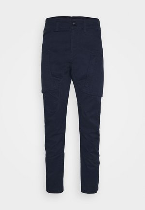 ZIP - Cargo trousers - bracket superstretch sartho blue