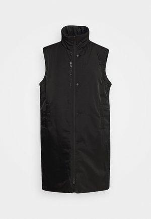 TREND VEST - Chaleco - black/(white)
