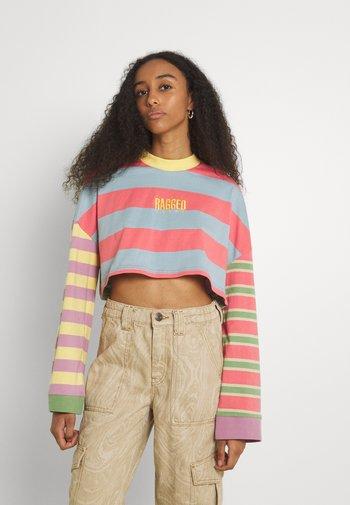 PURPOSE TEE - Long sleeved top - multi-coloured