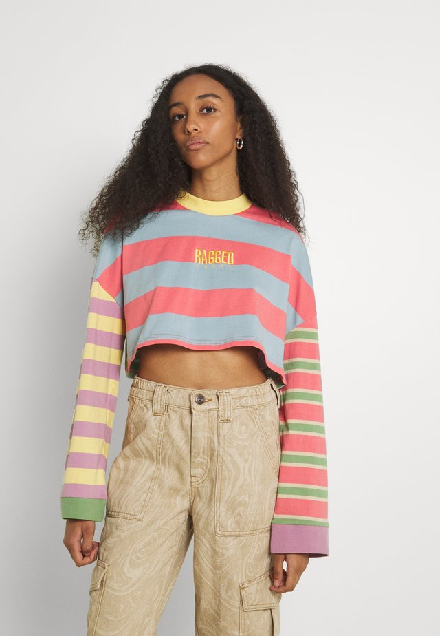 PURPOSE TEE - T-shirt à manches longues - multi-coloured