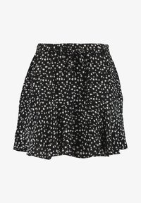 MS Mode - WITH BOW BELT - Shorts - multi black-white - 4