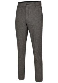 Club of Comfort - GARVEY IM WOLL LOOK - Trousers - light gray - 2