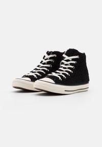 Converse - CHUCK TAYLOR ALL STAR - Höga sneakers - black/egret - 2