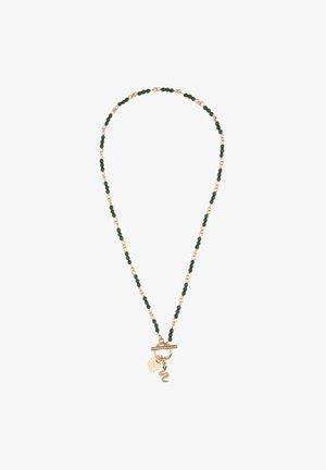 MIT SCHLANGEN-MOTIV - Necklace - grün