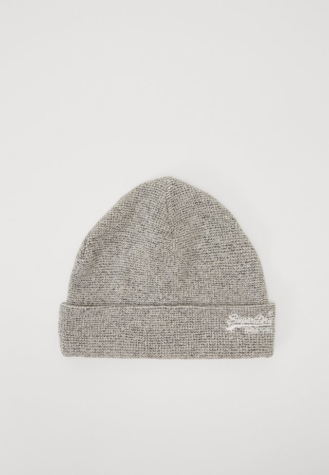 ORANGE LABEL BEANIE - Čepice - mottled grey