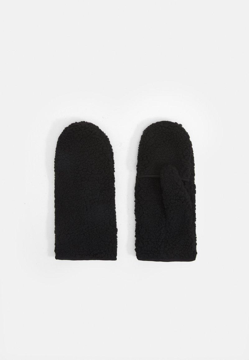 Weekday - STORM MITTENS - Mittens - black