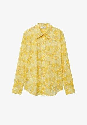Button-down blouse - amarillo