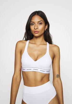 CARRIE PADDED - Triangle bra - true white