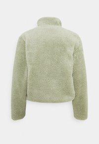 ONLY Petite - ONLDALINA ZIP TEDDY - Sweatshirt - desert sage - 6