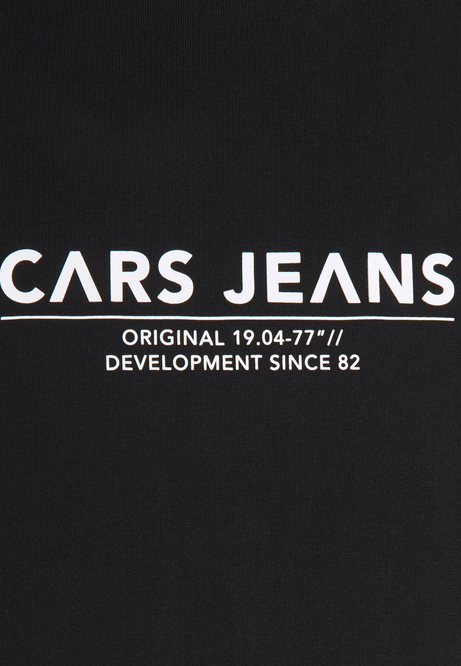 Cars Jeans NEZZ - Print T-shirt - black hFwGA