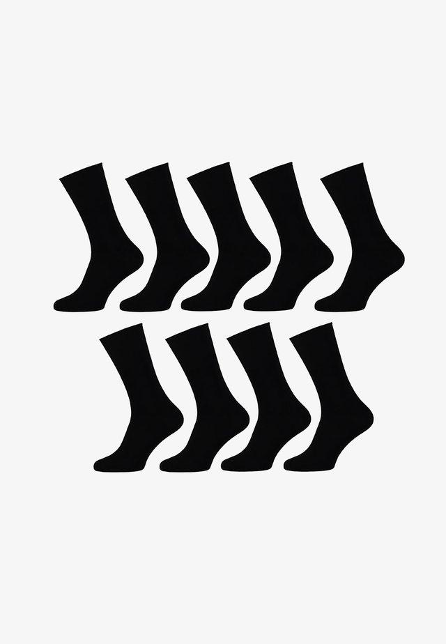 9 PACK - Sokken - black