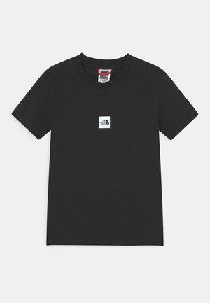 UNISEX - Camiseta estampada - black/white