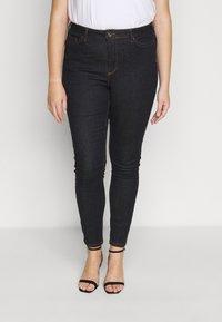 JUNAROSE - by VERO MODA - JRZEROPERNILLE  - Jeans Skinny Fit - dark blue denim - 0