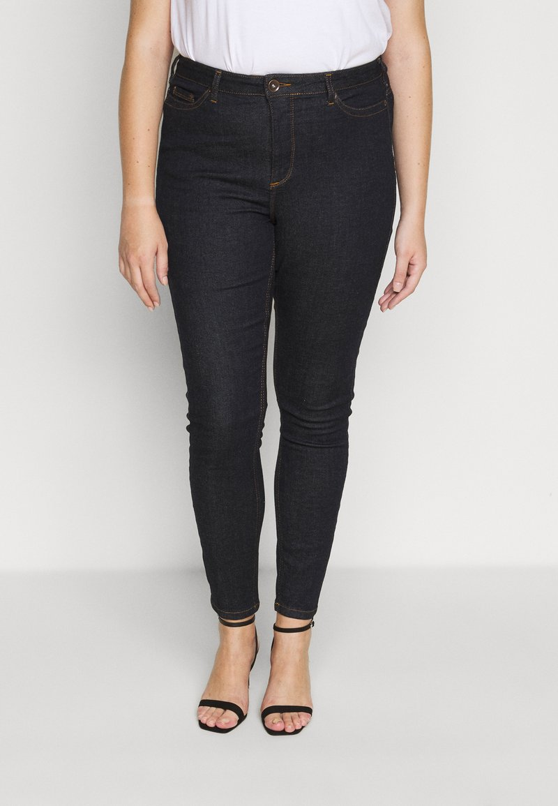 JUNAROSE - by VERO MODA - JRZEROPERNILLE  - Jeans Skinny Fit - dark blue denim