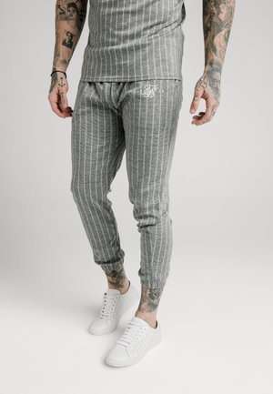 Tracksuit bottoms - grey pin stripe