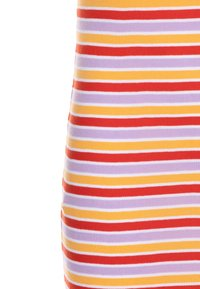 Mads Nørgaard - SOFTY STRIPE DRAPINA - Strikkjoler - multicolor/red - 2