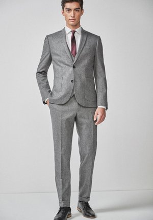HERRINGBONE - Giacca elegante - grey