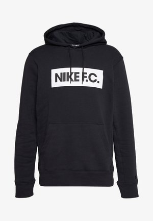 FC HOODIE - Jersey con capucha - black