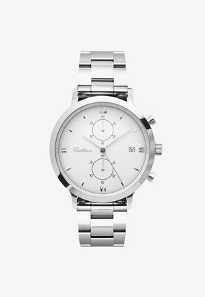 ADLER 42MM - Chronograph watch - silver-white