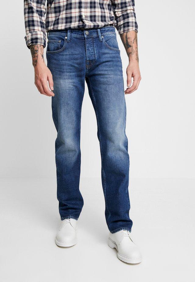 KLAAS - Jeans baggy - donker steen