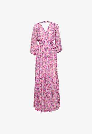 YASESMERALDA WRAP 3/4 DRESS SHOW - Maxi dress - cradle pink