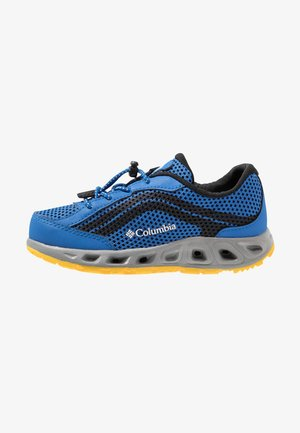 YOUTH DRAINMAKER IV - Zapatillas de senderismo - stormy blue/deep yellow
