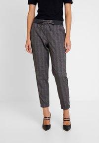 Esprit - JOGGER - Trousers - dark grey - 0