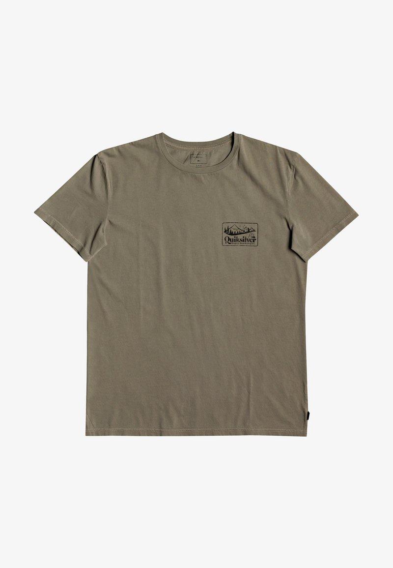 Quiksilver - OLD HABIT  - T-shirt imprimé - kalamata