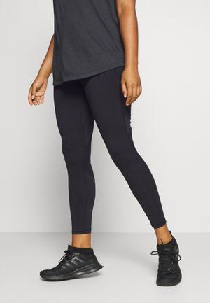 ASK LONG  - Leggings - black