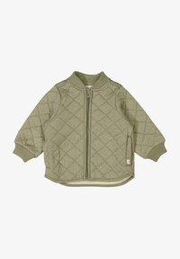 Wheat - Winter jacket - green melange - 0